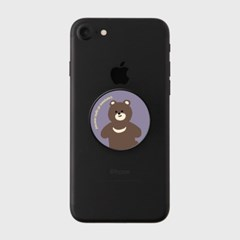[어프어프] 스마트톡 Board bear-purplerd