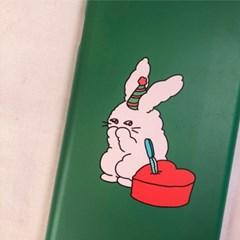프링코 토끼와 하트케이크 케이스