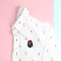 장미,카네이션,벚꽃 브로치