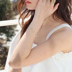 oval n pearl bracelet