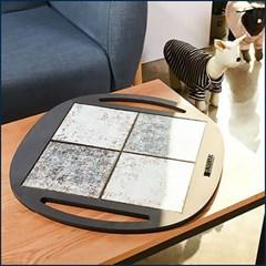 런메이크 강아지 쿨 타일 매트-고양이 여름 쿨매트 쿨방석 용품