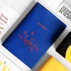 지유 트래블러 여권 케이스 - LOVE