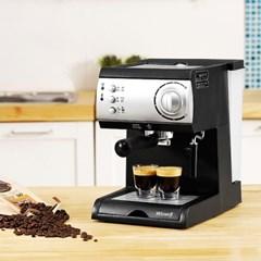 [리퍼] 에스프레소 반자동 커피머신 DL-310 (1.5L/스팀기능/반자동)