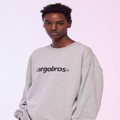 [카고브로스]CARGOBROS - S. LETTER LOGO SWEATSHIRT (G_(1004439)
