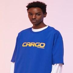 [카고브로스]CARGOBROS - CARGO LOGO TEE (BLUE) 반팔티_(1004419)