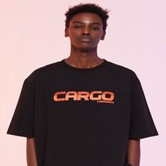 [카고브로스]CARGOBROS - CARGO LOGO TEE (BLACK) 반팔_(1004417)
