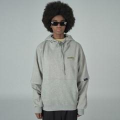 long sleeve hoodie-gray