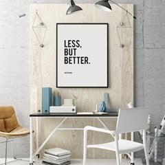 디터람스 명언 타이포그래피 액자 인테리어 포스터