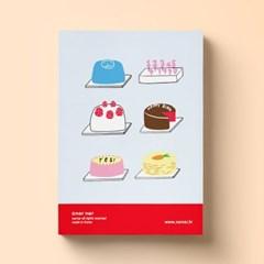 MEMO PAD - CAKE SHOP