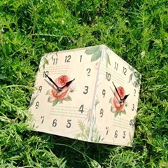 로즈 코너시계