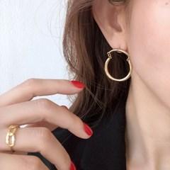 커넥트 링 귀걸이 connected ring earring