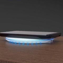 엑티몬 LED 고속 무선충전패드 C타입 5핀 MON-WCP11-QC-150