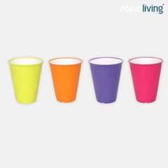 이태리 사나리빙 향균 컵 200ml (4컬러 택1)