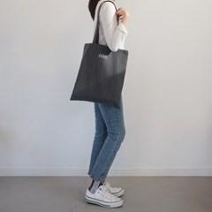 히히하 자수 에코백/gray