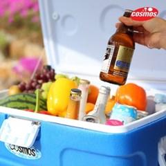 코스모스 아이스박스 50L블루 / 캠핑용/낚시용
