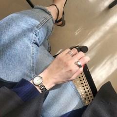 [925실버]오픈 볼드 반지 open bold ring