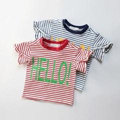 헬로 단가라 티셔츠 T190_(1217193)