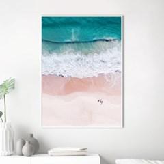 해변 바다 풍경 액자 인테리어 그림 포스터