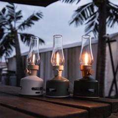 모리모리 캠핑'인테리어용 블루투스 LED 랜턴스피커 그린
