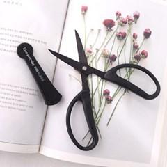 [kukka] 치카마사 꽃가위(블랙)