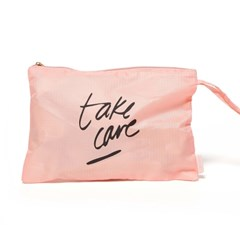 WORK IT OUT MESH GYM BAG - TAKE CARE (운동가방)