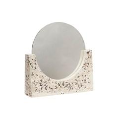 테라조 패턴 탁상 거울