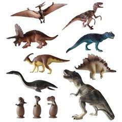 핑토 무독성 공룡 9종 선물 세트 피규어 장난감