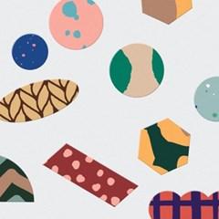 Pattern sticker 10type