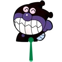 (일본)캐릭터 다이컷 부채 호빵맨,세균맨,헬로키티,도라에몽(6종)