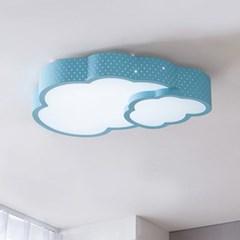 더블 구름 LED 방등 50W (블루/핑크)_(1578634)