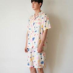 [m] Crème Fiona Short Pajama Set