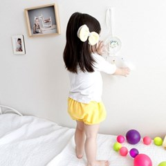 꿈두부 유아동 무지 디자인 아기블루머