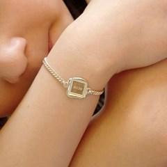 vintage square bracelet