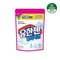 [유한양행]유한젠 멀티액션 표백제 1.5kg_(1990427)