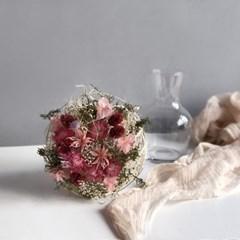 [프리저브드] 잔꽃믹스 꽃다발 - pink