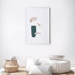 페블 추상화 인테리어 액자 그림 포스터
