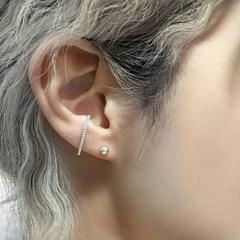 트위스트 라인 커프 귀걸이(실버92.5)