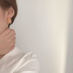 [알러지 방지 귀걸이] 랑지 이어링