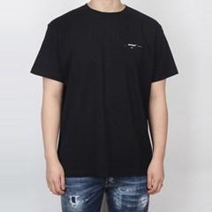 19SS 오프화이트 멀티컬러 애로우로고 티셔츠 (블랙) OMAA038R