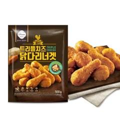 신세계푸드 올반 트리플 치즈 닭다리 너겟 500g x5봉