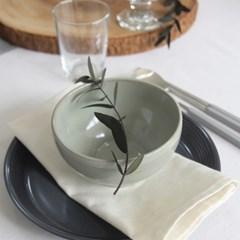 [윤도자기] 모던 한식 플레이팅 그릇 16종 5color