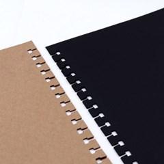 [Cheese Note] REFILL PAPER_크라프트&블랙 내지