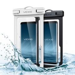 1+1 IPX-8등급 스마트폰 방수팩 P1 화이트+블랙