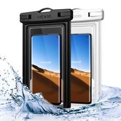 1+1 IPX-8등급 스마트폰 방수팩 P2 화이트+블랙