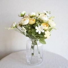 파스텔 라넌큘러스 부케 조화꽃장식 (6color))