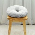 하라홈 메모리폼 모달 자세교정 사각 도넛방석 그레이_(1015766)