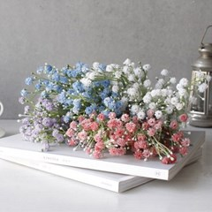 봄빛 안개꽃 조화 (4color)_(1584303)
