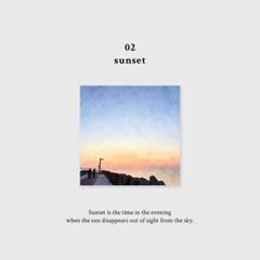 [무쿠앤에보니] scenery memo pad / 감성 메모패드