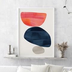 륀느 추상화 그림 인테리어 액자 포스터