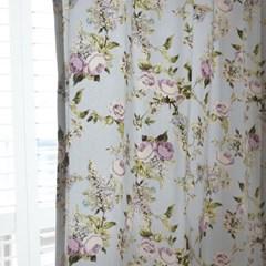 [Curtain] 코튼 플로랄 커튼 - 캐비지로즈
